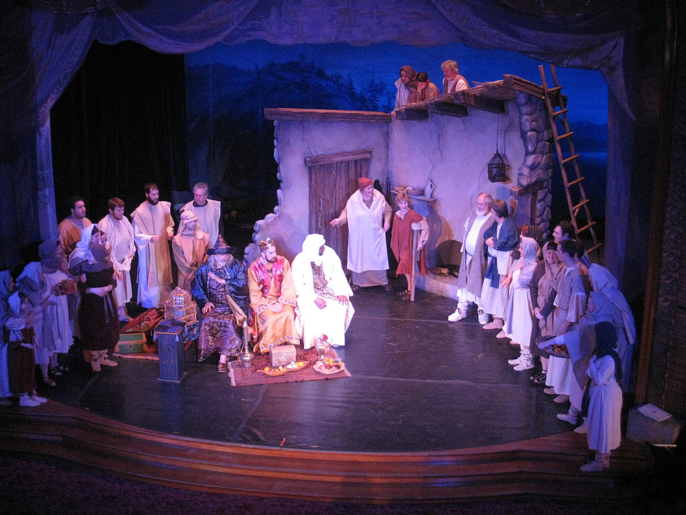 Amahl and the Night Visitors set